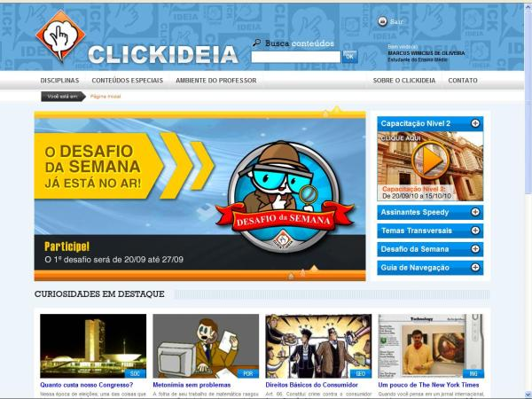 ClickIdéia - Novo Layout
